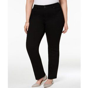 Charter Club Classic Fit Tummy Control Black Jeans